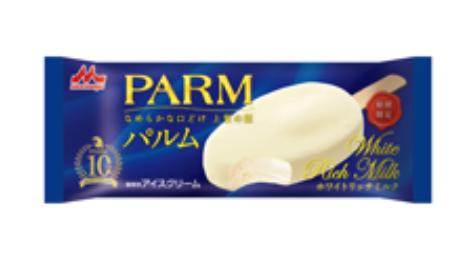 PARM ホワイトリッチミルク(1本入り) 発売