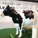 北海道産牛乳・乳製品のアンテナショップ、ミルクランドHOKKAIDO→TOKYO