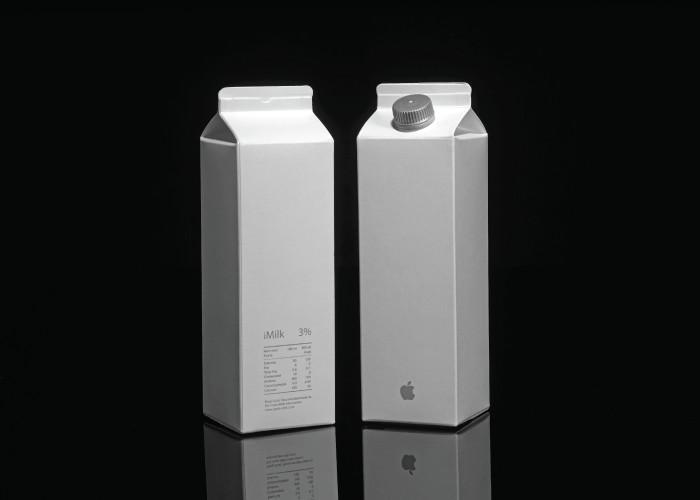 もしもアップルが、牛乳をデザインしたら・・・